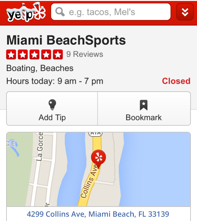 miami jetski rentals yelp reviews