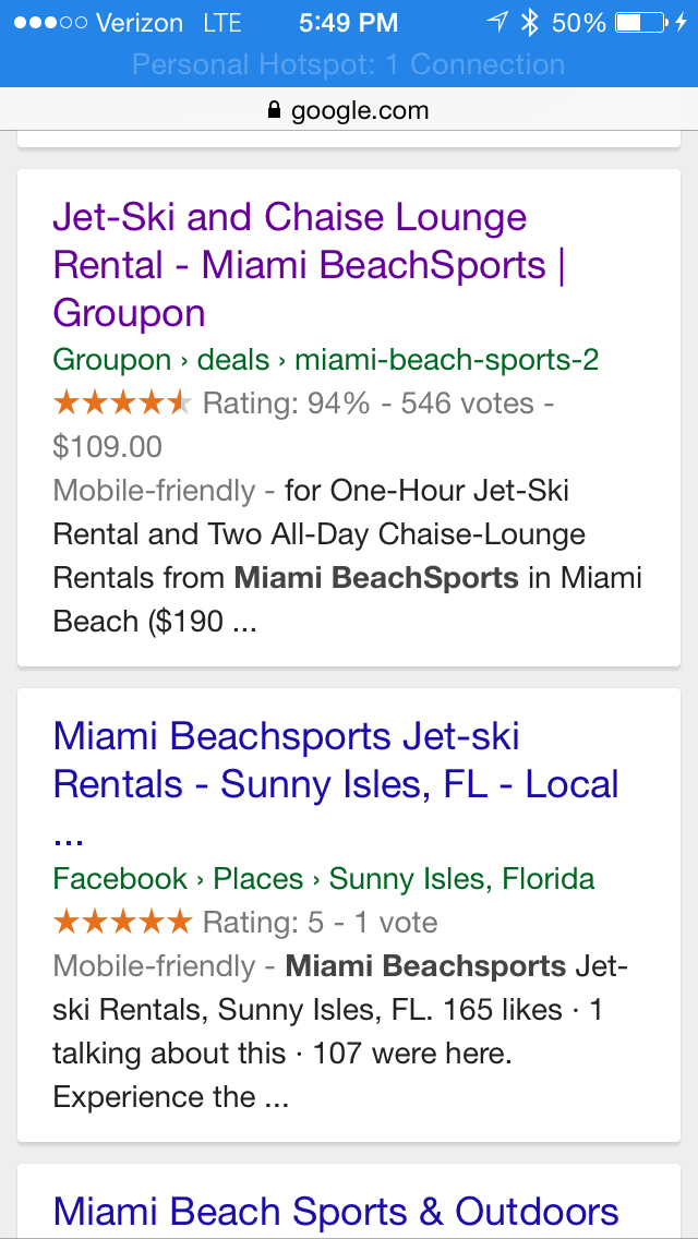 miami beachsports groupon jet ski rentals reviewss